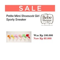 Petite Mimi Shoesock Girl Sporty Sneaker