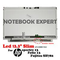 Led 13.3slim For Hp spectre 13 Hp Folio 13 Fujitsu SH782 LP133WH5 TSA1