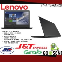 LAPTOP GAMING DESIGN LENOVO V110 14AST AMD A9 9420 / 4GB VGA 2GB RESMI
