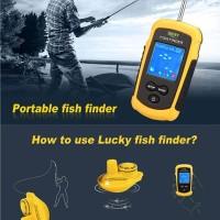 Fish Finder Wireless Lucky Pelacak Ikan Tanpa Kabel Locator FFCW1108-1