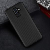 Case Samsung J8 2018 Ultraslim Matte softcase Carbon Slim Carbon J8
