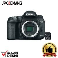 Canon EOS 7D Mark II Body + W-E1 Wifi GARANSI RESMI