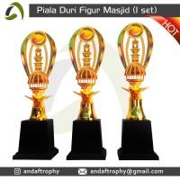 Piala/Trophy Duri Figur 'Masjid' 1 Set