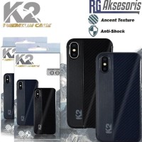 CASE HP SHINING SOFT CARBON PREMIUM CASE BY K2 SAMSUNG J1 ACE / J2 /