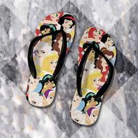 Princess sandal sendal jepit teplek wanita anak pria