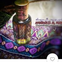 12ML Ambergris al musk parfume oil(minYak wangi nabi)