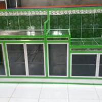 dapur kitchen lemari aluminium cantik