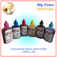 1SET TINTA KOREA SUBLIM / SUBLIME PRINTER PSERIES EPSON SABLON 100ML