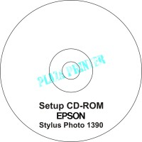 CD Driver Printer Epson Stylus Photo 1390