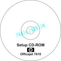 CD Driver Printer HP Officejet 7610