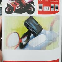 Holder handphone hp hape motor anti jatuh watter proof anti air