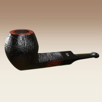 Stanwell Brushed Black Rustico 32 Pipa Cangklong Tobacco Pipe