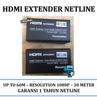 HDMI Extender Netline Range 60m - Original
