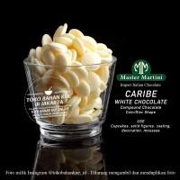 Master Martini CARIBE WHITE Chocolate COIN Compound Coklat Putih 100gr