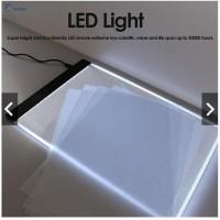 Harga alas gambar led tracing light pad a4 bisa untuk lampu | Pembandingharga.com