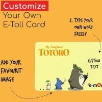 Print cetak Etoll E-toll Emoney E-money custom saldo 0 2 sisi dove