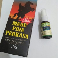 Paket Madu Pria Perkasa+Minyak Bulus Daun Bungkus Isi 20 ml