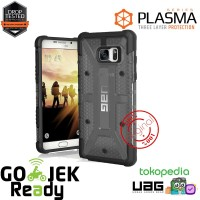 UAG Samsung Galaxy Note FE Plasma Case - Ash/Black