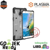UAG Samsung Galaxy Note FE Plasma Case - Ice/Black