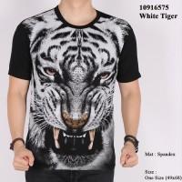 Jual Baju Kaos MACAN HARIMAU tiger 3D animal binatang satwa pria Murah