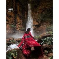 Harga etnic kain tenun tas baju bla170 blanket tenun etnik motif | Pembandingharga.com