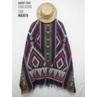 Harga etnic kain tenun tas baju bla178 blanket tenun etnik motif | Pembandingharga.com