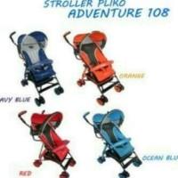Harga stroller pliko adventure 108 seri2 kereta dorong bayi travelling | antitipu.com