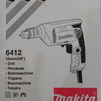 MESIN BOR MAKITA 10MM 6412