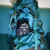 Carrier (Tas Gunung) CONSINA Bering 60 L + cover bag EIGER