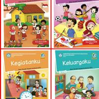 Buku pelajaran SD tematik kelas 1 tema 1 2 3 4 5 6 7 8