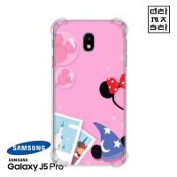 Disney Minnie Mickey Casing Samsung Galaxy J5 Pro Anti Crack Case HP