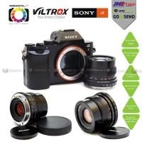 Viltrox SONY Lens E-Mount 35mm F2.0 Prime Lensa,Full Frame/APSC Lens