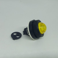 Pilot Lamp Fuji Electric 30mm LED DR30-DOL-E3Y 24V AC/DC Yellow