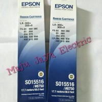 Pita Printer Epson LX300+ Ribbon Catridge LX-300/8750/800 Tempat Ori