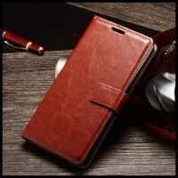 CASE / CASING HP LEATHER FLIP COVER WALLET ALCATEL ONE TOUCH FLASH 2