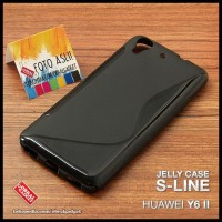 CASE / CASING HP SOFT JELLY HUAWEI Y6 II 2 SILICON SILIKON SOFTCASE