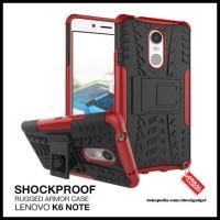 CASE / CASING HP ARMOR LENOVO K6 NOTE PLUS SHOCKPROOF HYBRID BEST &