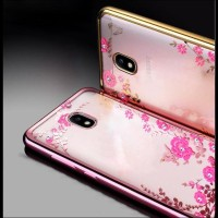CASE / CASING HP TPU FLOWER SAMSUNG J7 PLUS 2017 DUAL CAMERA SOFT