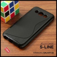 CASE / CASING HP SAMSUNG GALAXY E5 SOFT JELLY GEL SILICON SILIKON TPU