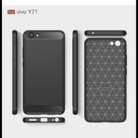 CASE / CASING HP VIVO Y71 IPAKY CARBON SOFT SERIES