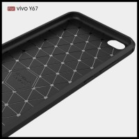 CASE / CASING HP VIVO Y55 IPAKY CARBON FIBER SOFT SERIES