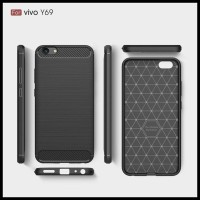 CASE / CASING HP VIVO Y69 IPAKY CARBON FIBER SOFT SERIES