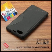 CASE / CASING HP SONY XPERIA Z1 MINI COMPACT SOFT JELLY SILICON
