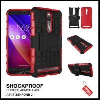 CASE / CASING HP ASUS ZENFONE 2 RUGGED SHOCKPROOF ARMOR HYBRID BEST &