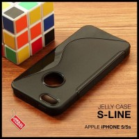 CASE / CASING HP APPLE IPHONE 5 5S SOFT JELLY GEL SILICON SILIKON TPU