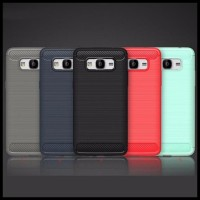 CASE / CASING HP SAMSUNG GALAXY GRAND PRIME IPAKY CARBON SOFT SERIES