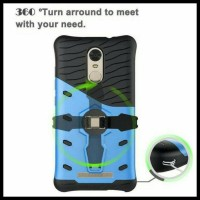 CASING HP - XIAOMI REDMI NOTE 3 PRO ARMOR RUGGED ROBOT STAND 360