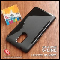 CASE / CASING HP SOFT JELLY LENOVO K6 NOTE SOFTCASE SILIKON SILICON
