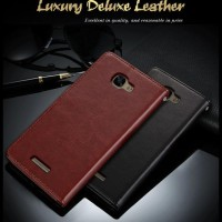 CASE / CASING HP LEATHER FLIP COVER WALLET ALCATEL ONE TOUCH FLASH