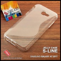 CASE / CASING HP SOFT JELLY SAMSUNG GALAXY A7 2017 SILICON SILIKON